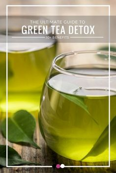 Green tea isn't just for weight loss- it could be an excellent detox drink too! Time to understand the benefits of a green tea detox!