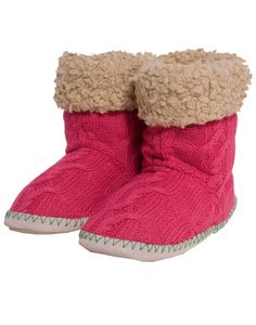 Rampant Sporting Knitted Slipper Boot-Joules