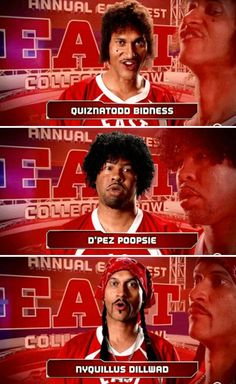 Key and Peele's East-West Bowl introductions...