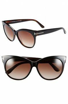 Óculos Carrera Women's Saskia 57mm Sunglasses Black #Óculos #Carrera