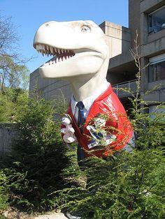 """Fredosaurus Rex Friday XIII"" by Karen Howell"