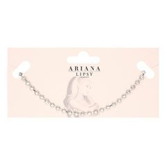 Ariana Grande Crystal Chain Choker    would go perfectly with the ariana for lipsy dress i just ordered, but i think lace would go even better :)