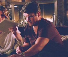 I'm a Wiseass, Not a Jackass Castle Tv Shows, Castle Beckett, Nathan Fillion, Perfect Couple, Stana Katic, Partners In Crime, 2000s, Biceps, Favorite Tv Shows