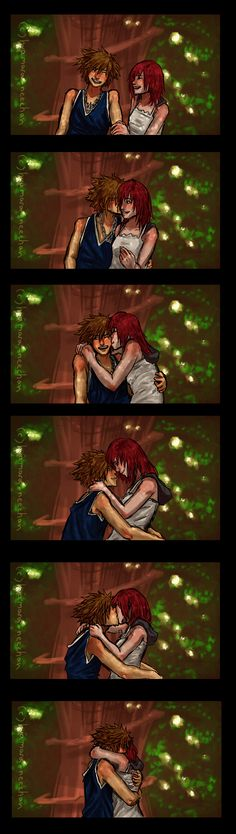 """Commissioned with: """"Darksides and Twilight Thorns?"""" """"Together we can take them,"""" Sora said in his usual confident show of bravado. Riku just smiled. Kingdom Hearts Funny, Kingdom Hearts Fanart, Sora And Kairi, Dragon Age Series, Saeran, Shall We Date, Couple Cartoon, It Goes On, Just Smile"""