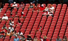 #NFL #HELL: 49ers-Rams tix reselling for price of 2 pretzels...