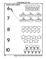 Learningenglish-Esl: counting to ten. Preschool Number Worksheets, English Worksheets For Kids, Free Kindergarten Worksheets, Preschool Writing, Numbers Preschool, Preschool Learning Activities, Math For Kids, Google, Activities For Kindergarten