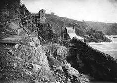 A portfolio of more than images of Cornwall are to be sold at Penzance Auction House with an estimate of This rare collection of photographs depict the ordinary lives of Cornish men and women from the and early century Tin Mine Cornwall, Devon And Cornwall, Cornwall England, Mousehole Cornwall, Penzance Cornwall, St Just, Victorian Life, Poldark, British Isles