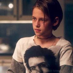 """Kristen Stewart portrays the character of Sarah Altman in the movie """"Panic Room""""......"""