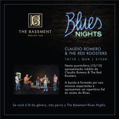 Blues Nights hoje no The Basement