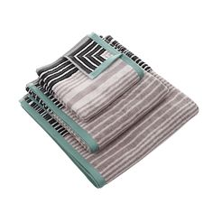 Discover the Designers Guild Delphi Towel - Natural - Hand Towel at Amara