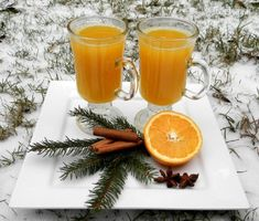 Horký pomeranč - Recept Alcoholic Drinks, Cocktails, Vodka, Smoothies, Sweets, Glass, Food, Author, Syrup