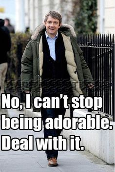 You win again, Martin Freeman.