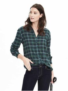 Women's Apparel: blouses & shirts | Banana Republic
