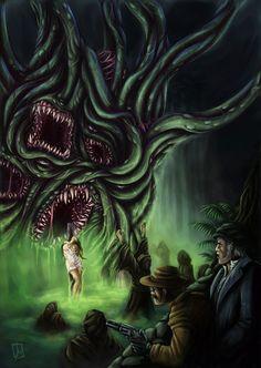 Cosmic Horror Cover Art
