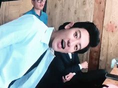 EXO-Love Concert in Dome 151010 : Tender Love VCR - Chanyeol and D.O.
