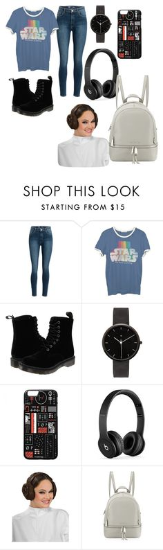 """Star Wars"" by adriennebryant ❤ liked on Polyvore featuring Junk Food Clothing, Dr. Martens, I Love Ugly, Beats by Dr. Dre and MICHAEL Michael Kors"