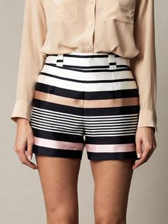 http://www.donnaclassey.com/2013/03/raoul-border-stripe-silk-shorts.html