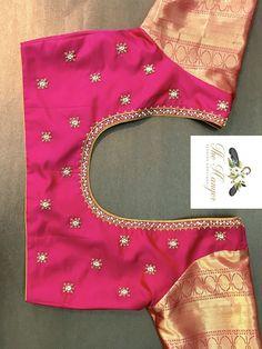 Saree Jacket Designs, Patch Work Blouse Designs, Wedding Saree Blouse Designs, Best Blouse Designs, Hand Work Blouse Design, Simple Blouse Designs, Stylish Blouse Design, Blouse Neck Designs, Designer Blouse Patterns