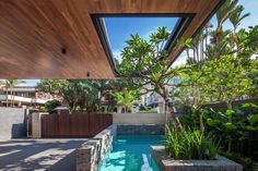 Wallflower Architecture + Design have completed the Far Sight House in Singapore.