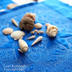 Shells on Shells Quilt FREE tutorials for all motifs Lori Kennedy -The Inbox Jaunt