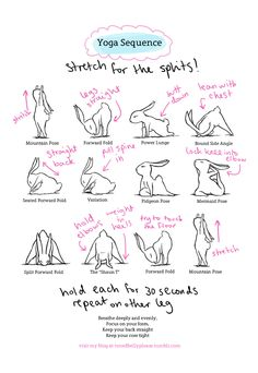 Yoga Bunny Routines! - Creds I do these for a quick morning stretch - max. 12 minutes!