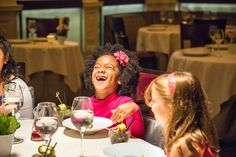 Students from P.S. 295 in Brooklyn learn the fine points of French cuisine at one of New York's poshest restaurants.