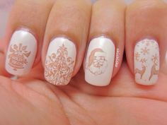 Jingle Bell Christmas Nail Art | chichicho~ nail art addicts
