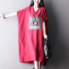 Clothes will not shrink,loose Cotton fabric, soft to the touch. *Care: hand wash or machine wash gentle, best to lay flat to dry. *Material: Cotton Weight:370 g *Colour:Photo colour *Model size: Heigh