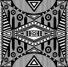 Ethnic Pattern I (Estampa Étnica I) on Behance