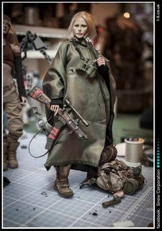artkingman采集到PUNK(148图)_花瓣 Military Action Figures, Custom Action Figures, Gi Joe, Mad Max, Toy Art, Urban Rivals, Cyberpunk, Space Fashion, Ashley Wood