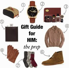 A Southern Drawl: Gift Guide For Him: The Prep | Clarks Desert Boots