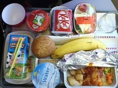 Cuisine Paradise   Eat, Shop And Travel: [Day 1] Our Family Trip to Bangkok (BKK), Thailand - [Thai Airlines In-Flight Menu] Kid's Meal