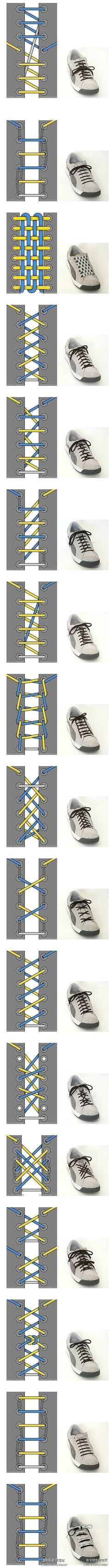 17 shoelaces ideas