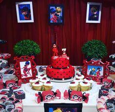 Miraculous está fazendo a cabeça  das crianças! A Vitória o escolheu para comemorar seus 7 anos!!!  #SonhoColore #Miraculous #festanogame