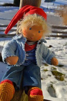 * . + . * + ZAUBERHAFT * . + . * + von Hermis Puppenstube  - ♥ -  Puppenmachen ist Herzenssache - ♥ - Stoffpuppen zum Liebhaben gemacht ! auf DaWanda.com