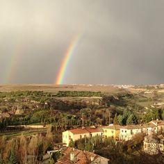 Segovia después de la tormenta - oliviasoaps's photo on Instagram