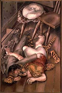 brown - couple - The Tiger Rug, 1940 - figurative painting - Stanley Spencer Stanley Spencer, Lucian Freud, Large Painting, Figure Painting, Dame Mary, Tiger Rug, Famous Artists, British Artists, Abstract Drawings
