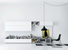 Twe kolory to zawsze black and white... ;)  #livingroom #italianstyle