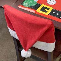 El costurero de Stella: Decoracion navideña para su comedor.