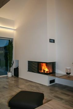Furnished Apartment, Interior, House, Home Decor, Corner Fireplaces, Blue Prints, Living Room, Table, Decoration Home