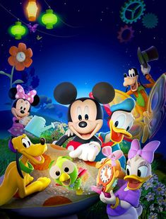 """Mickey & Friends for the Mickey Mouse Clubhouse movie: """"Adventures in Wonderland"""""""