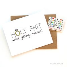 HOLY SHIT! We're getting married!!! See 15 Sweet 'For My Groom' Cards for Your Wedding Day on Confetti Daydreams: http://www.confettidaydreams.com/to-my-groom-wedding-day-card/