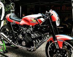 Honda 6 cylinder Cafe Racer