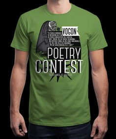 """""""Vogon Poetry Contest"""" on Qwertee : Limited Edition Cheap Daily T Shirts 