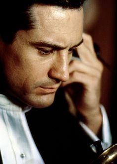 Robert De Niro, in Once Upon A Time In America — Давно ждешь? — Всю жизнь.
