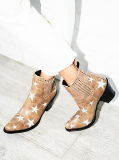Reach For The Stars Ankle Boot