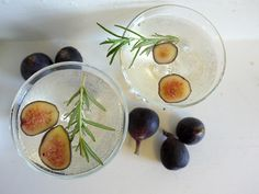 Honeyed Fig Garden Spritzer || Valley & Co. Lifestyle - make the most of the freshest ingredients of the season!