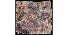 Japanese outsider-Untitled by Satoshi Morita  2010–11, wool yarn, acrylic yarn, cotton yarn, cotton, ribbon   Wellcome Collection