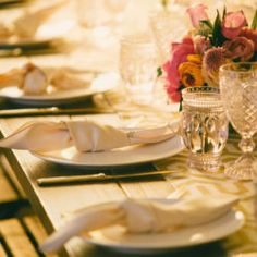 Lovely wedding reception designed by Bright Blue Events featuring our glassware & dinnerware. Lovely rustic chic, industrial decor for this wedding reception.   wedding inspiration, wedding decor, wedding theme, wedding colors, wedding planning, wedding planner, Los Angeles, CA