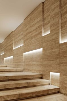 Amazing effects in a wall with led light